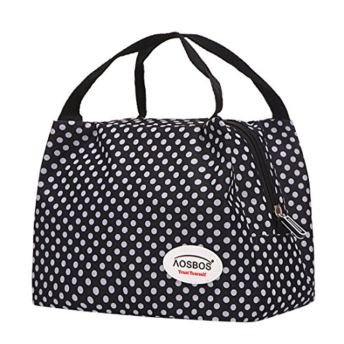 Aosbos Reusable Insulated Lunch Polka product image