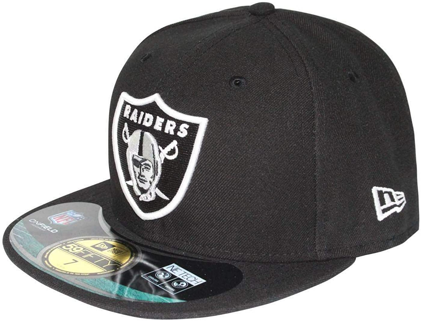 New Era 59Fifty NFL Oakland Raiders Cap: Amazon.es: Ropa y accesorios