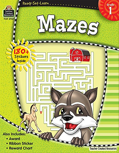 Ready-Set-Learn: Mazes Grd 1 - Highlights Set