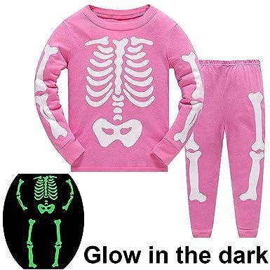 f57b5ad5c9c6 Girls Pyjamas Halloween Costumes for Kids Nightwear Cotton Toddler ...
