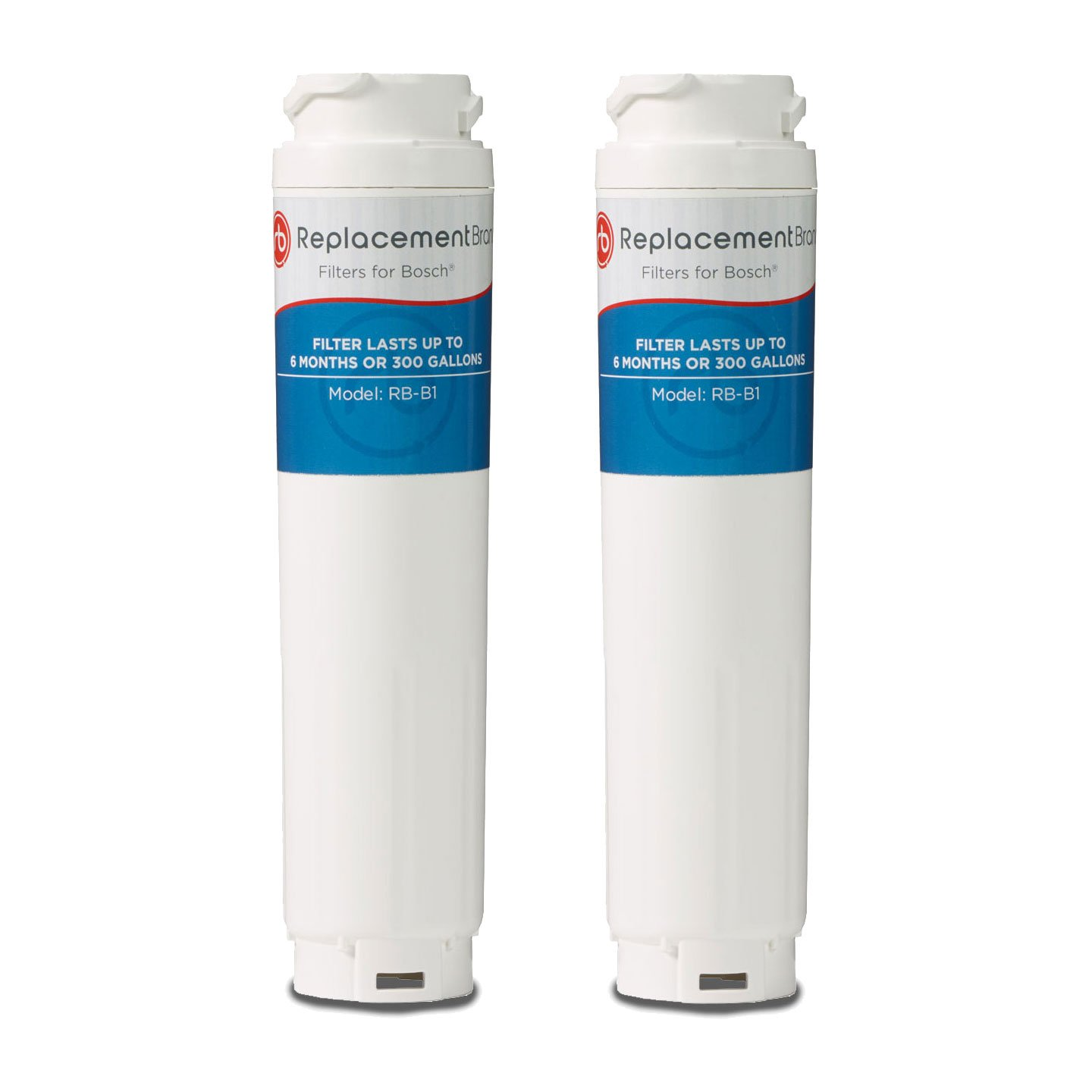 ReplacementBrand B1-2PK Bosch 644845/UltraClarity Comparable Refrigerator Water Filter (Pack of 2)