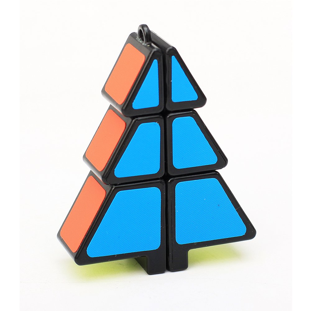 Creative Weihnachtsbaum Magische Cube Puzzle High Speed Smart Cube Anh/änger Intellektuelle Entwicklung Kinder Spielzeug Weihnachtsgeschenk gr/ün Weihnachten Deko