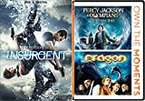Young Adult Fantasy Collection - Percy Jackson & the Olympians: The Lightning Thief, Eragon & Insurgent (The Divergent Series) 3-Movie Bundle