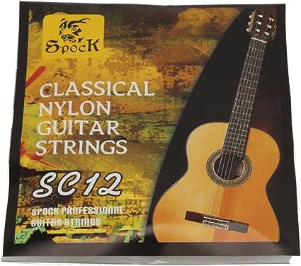 US STOCK) Dongtu Cuerdas para guitarra clásica profesional ...