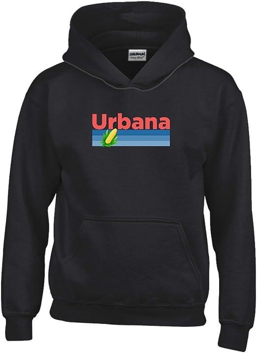 Kids Sweatshirt Tenn Street Goods Illinois Retro Corn /& Farm Youth Hoodie