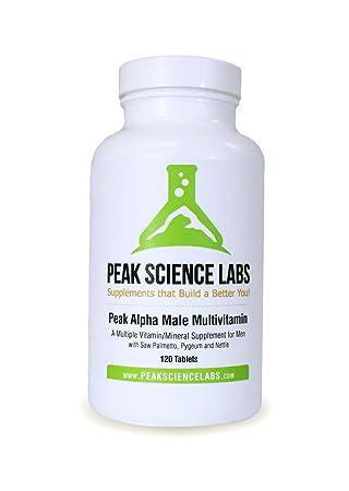 Amazon.com: Peak Alpha macho Multivitamínico: Health ...