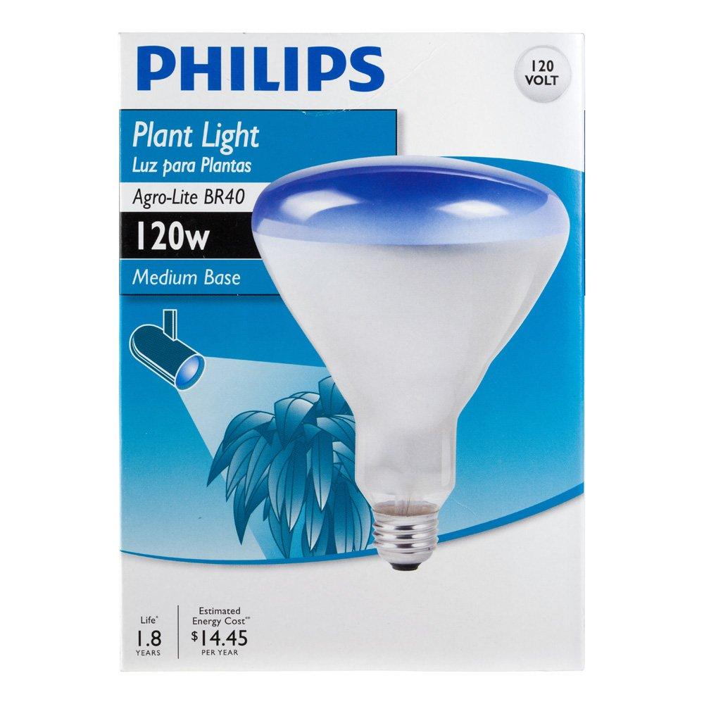Philips 415307 Agro Plant Light 120-Watt BR40 Food Light Bulb - Led ...