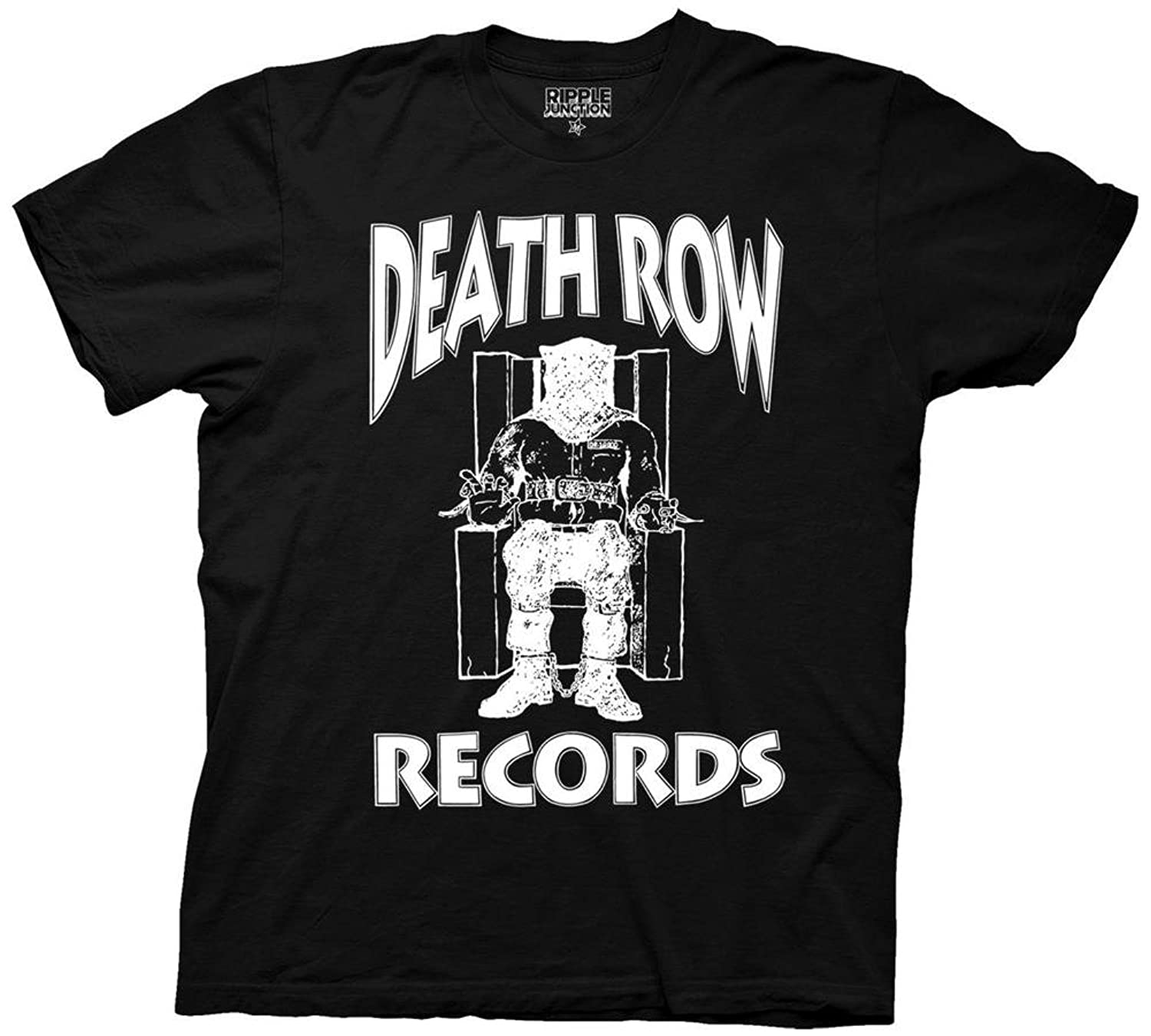 Men's   Death Row Records  Logo   T Shirt by Amazon