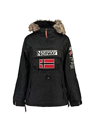 Geographical Norway Chaqueta de Esqui de Mujer Negro (4 ...