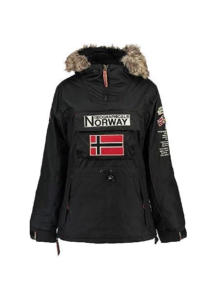 disponibilidad en el reino unido 0cd9f 336a7 Geographical Norway Chaqueta de Esqui de Mujer Negro (4 ...