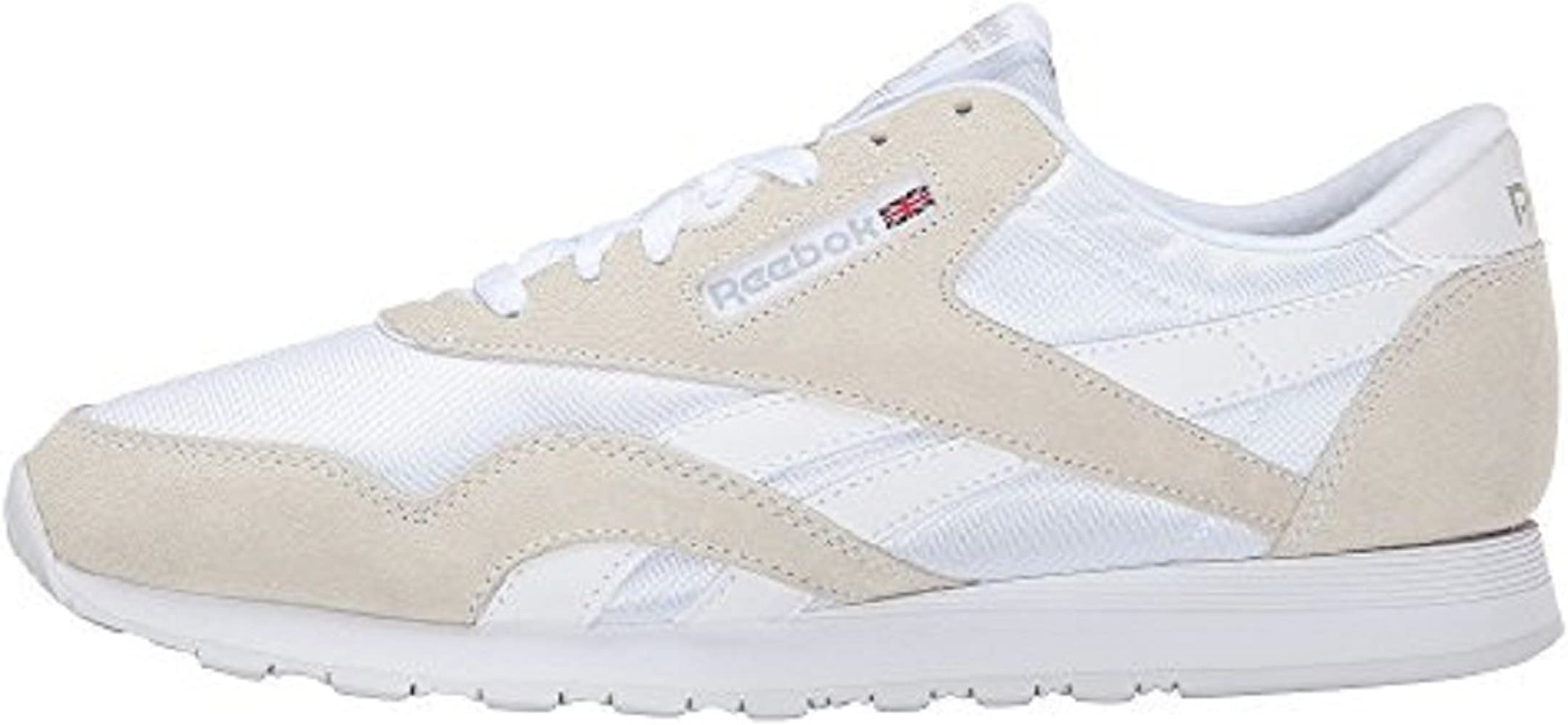 Cíclope Glorioso Apto  Amazon.com: Reebok Men's Classic Sneaker (45-46 M EU / 12 D(M) US, White/Light  Grey): Shoes