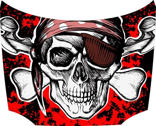 Bonnet Sticker Pirate: