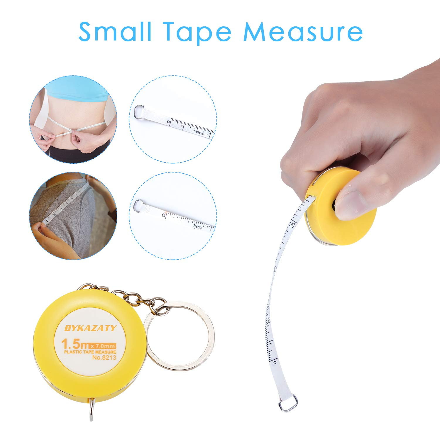 BYKAZATY Pet Scale with Tape Measure, Multi-Function Baby Scale, Infant Scale Digital Weight with Height Tray(Max: 70cm), Measure Weight Accurately(Max: 220lb), Perfect for Toddler/Puppy/Cat/Dog/Adult by BYKAZATY (Image #6)