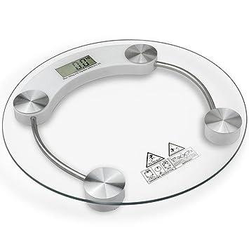 Amazon.com: MOCCO Báscula digital de precisión para baño con ...