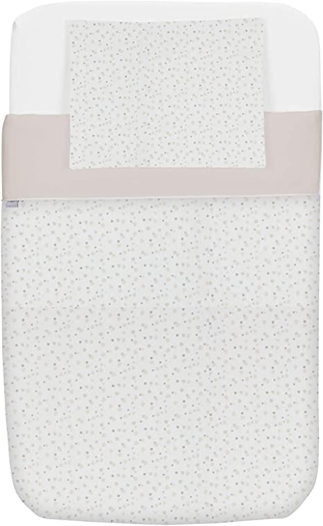 Chicco Set de 2 sábanas bajeras ajustable para mini cuna