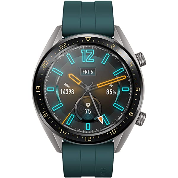 Huawei Watch GT Active - Reloj Inteligente, Verde, 46 mm ...