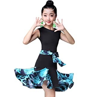 Amazon.com: ZX Latin Rumba Salsa - Vestido de baile ...