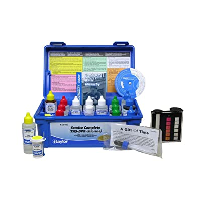 Taylor Service K-2006C Complete Pool Water Test Kit