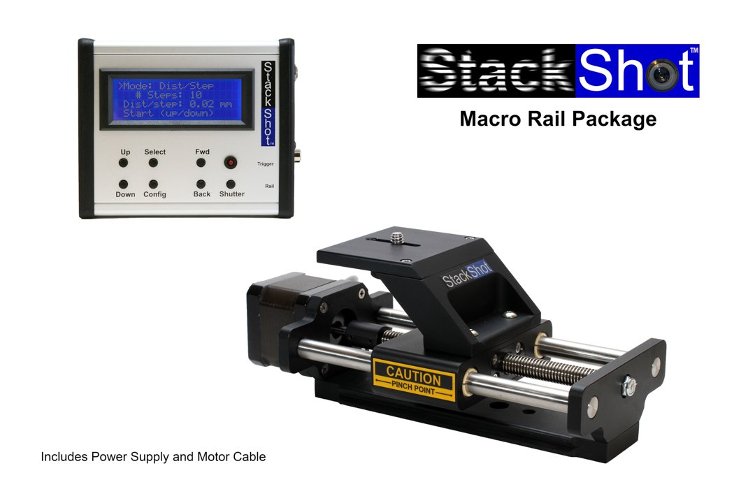 StackShot Automated Macro Rail Package, US AC Adapter