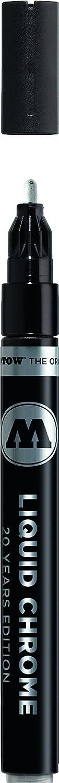 Molotow Liquid Chrome Alcohol Paint Pump Marker, 2mm, 1 Each
