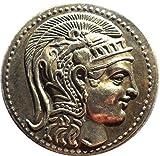 Ancient Greek Coin - Attica Atherns Tetradrachm 135 BC - Replica
