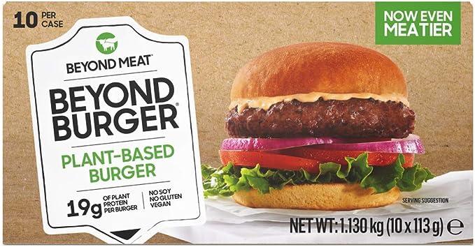 HAMBURGUESA BEYOND MEAT PACK (PACK 20) hamburguesas veganas