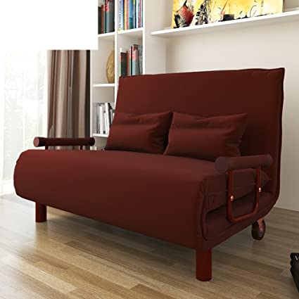 Amazon.com: ZHEDIECHANG Folding Bed/Single Bed/Sofa Bed/Lazy ...