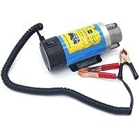 NUZAMAS Bomba de transferencia de aceite de 12 V, 100 W, diésel, extractor de fluidos, bomba de transferencia de agua…