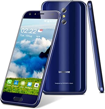 DOOGEE bl5000 4 G Smartphone sin Contrato, Android 7.0 Funda con 5 ...