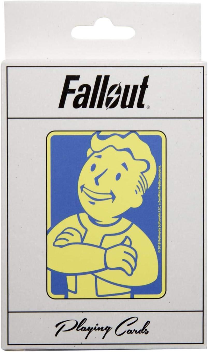 Just Funky Fallout Vault Boy Playing Cards: Amazon.es: Juguetes y juegos
