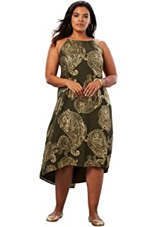 ff374136f73 Roamans 24 7 Womens Plus Size Tiered Lace Dress at Amazon Women s ...