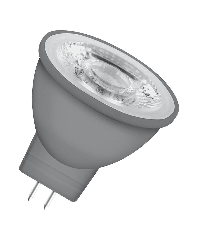 Lot de 10 pi/èces Blanc Chaud 2700K 4,6W Equivalent 35W Angle : 36/° 12 V OSRAM LED STAR MR16 // Spot LED Culot GU5.3