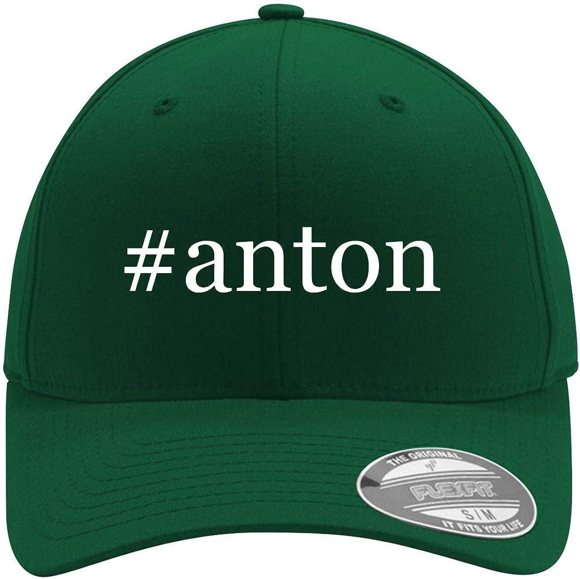 #anton - Adult Men's Hashtag Flexfit Baseball Hat Cap