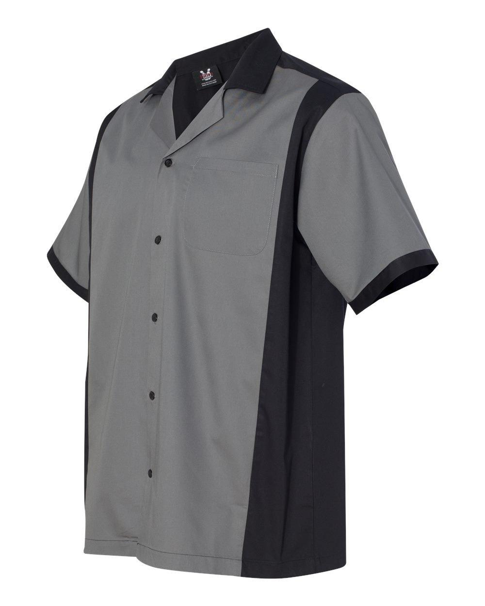 Hilton Cruiser Bowling Shirt - Slate - Medium by Hilton