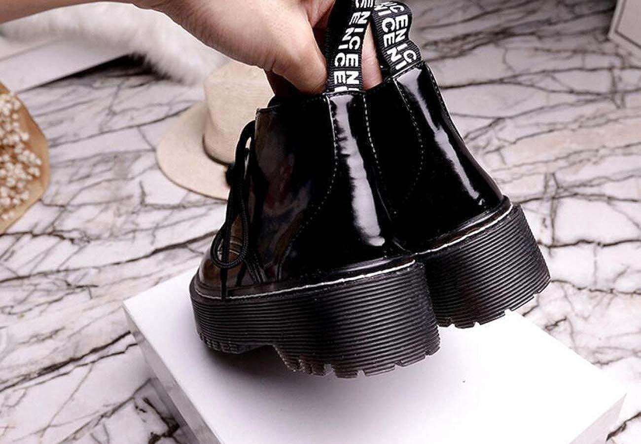 DANDANJIE Chaussures Femme Martin Boots Plus Booties VeloursB07GDKY32BParent VeloursB07GDKY32BParent Booties 010970