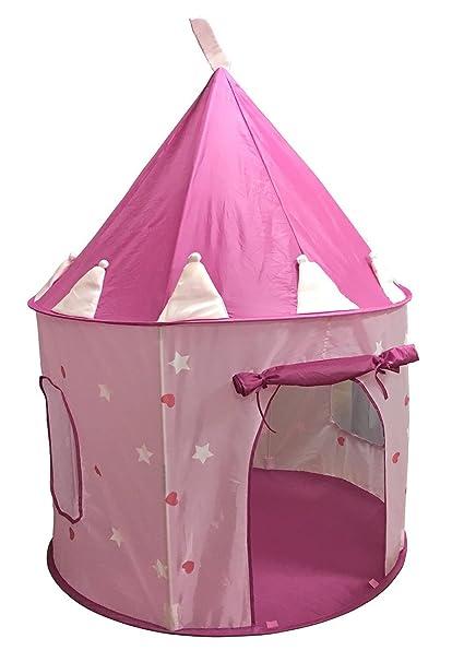 SueSport Girls Princess Castle Play Tent Pink  sc 1 st  Amazon.com & Amazon.com: SueSport Girls Princess Castle Play Tent Pink: Toys ...