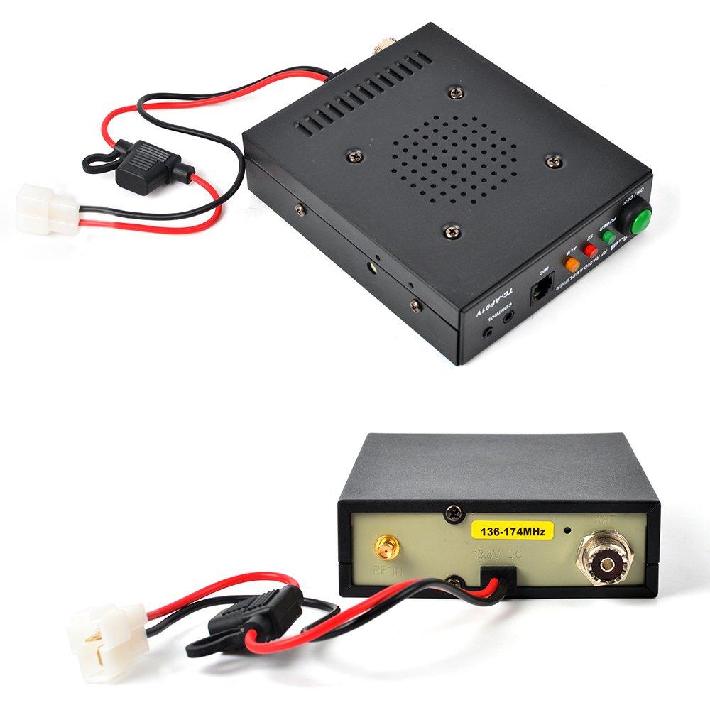 HYS 25W VHF 137-174MHz 2M Ham Walkie Talkie Power Amplifier For Motorola GP328 GP338 PRO5150 PRO7150 GP320 2 Way Radio by HYS (Image #3)