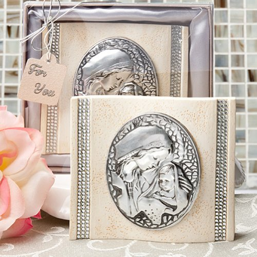 Madonna and Child Plaque First Communion Confirmation Religious Favors - Qty of (Communion Plaque)