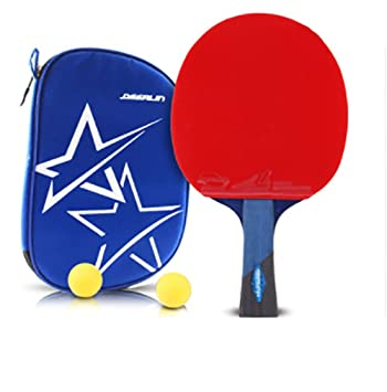 xianw Ping Pong Padel - Raqueta de Tenis de Mesa Profesional Mejor con Caucho del Alto