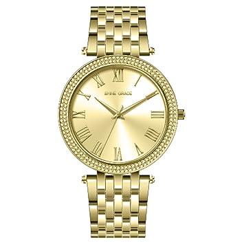 Shine Grace Clásico - Reloj moderno y lujoso para mujer: Amazon.es: Juguetes y juegos