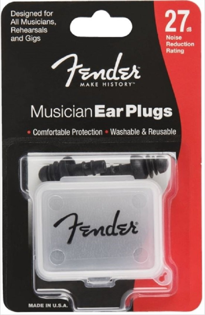 FENDER 099–0542–000Biffy Clyro Series BLK Ear Plugs–Protection Auditive 0990542000