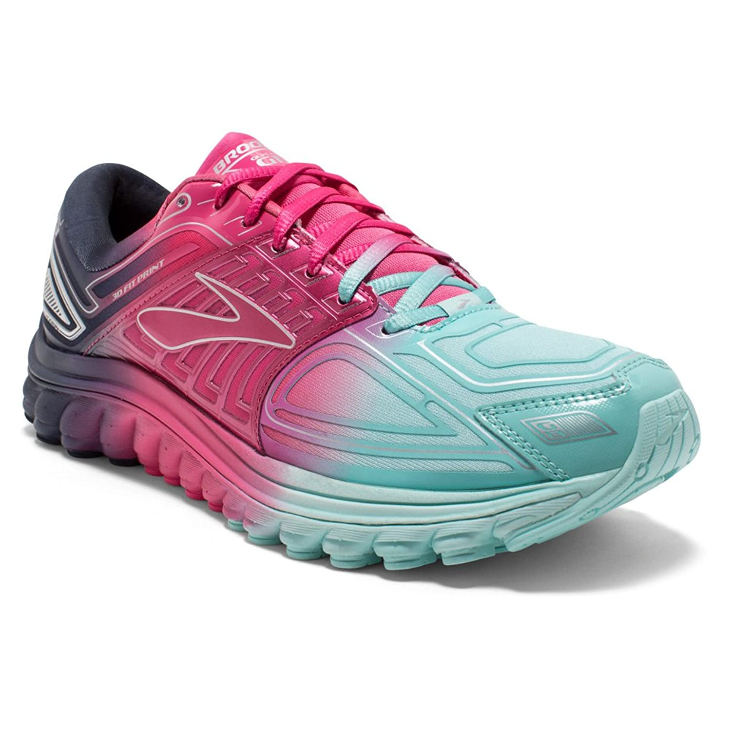 8f5fabac6c20a Brooks Glycerin 13 Women s Neutral Running Shoes Purple Pink Blue ...