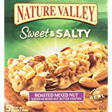 Nature Valley Sweet and Salty Roasted Mixed Nut, 5 Count, 175 Gram