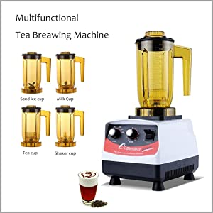 XEOLEO Tea brewing machine Bubble tea machine 1200ml Multifuction Food blender 1200W Shaking machine Smoothie maker brew cream Milk shaker