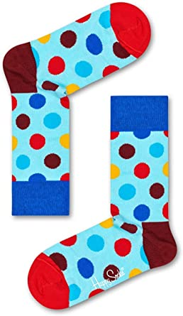 TALLA M. Happy Socks Calcetines (Pack de 4) para Mujer
