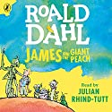James and the Giant Peach Hörbuch von Roald Dahl Gesprochen von: Julian Rhind-Tutt