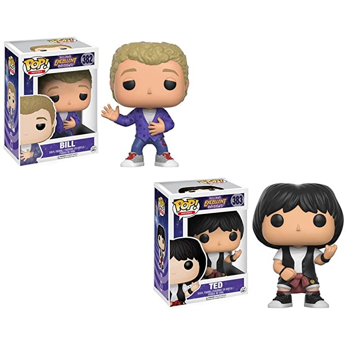 Movies Bill /& Ted/'s Excellent Adventure Set of 2 Figure Funko Pop