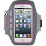 Belkin Ease-Fit Plus Armband for iPhone 5 / 5S / 5c / SE (Pink)