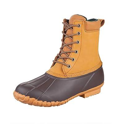 8 Fans Duck Bean Boots Waterproof Insulated Durable Rain Winter Snow Boots for Men | Snow Boots