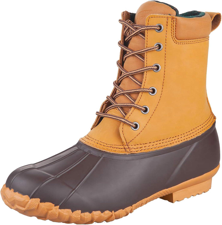 8 Fans Duck Bean Boots Waterproof